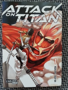 Attack on Titan Band 1