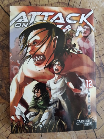 Attack on Titan Band 12
